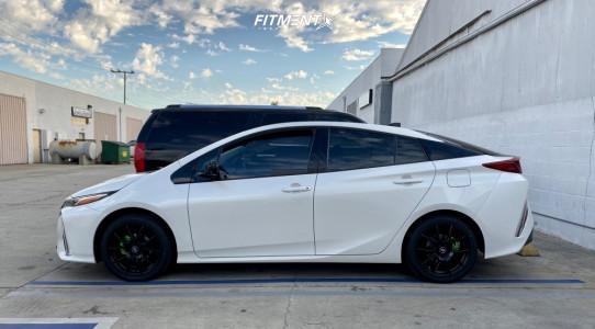2017 Toyota Prius Prime - 17x7.5 45mm - Enkei Ys5 - Stock Suspension - 215/45R17