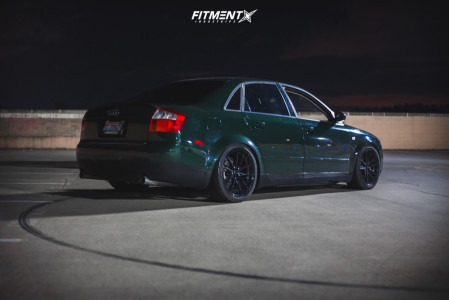 2002 Audi A4 Quattro - 18x8 35mm - Konig Oversteer - Coilovers - 225/40R18