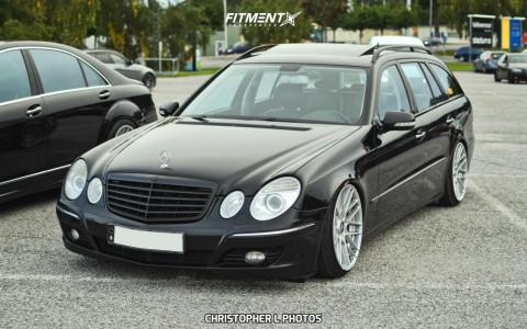 2007 Mercedes-Benz E320 - 19x10 35mm - Rotiform Rse - Coilovers - 225/35R19