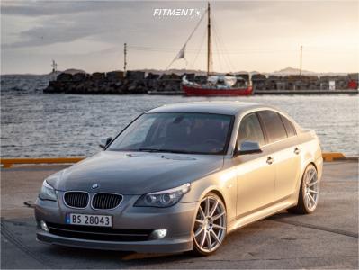 2008 BMW 528i - 20x9 35mm - Niche Essen - Lowering Springs - 245/30R20
