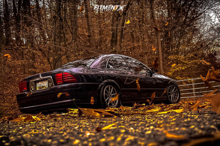 2000 Lincoln LS - 17x8 45mm - Konig Oversteer - Coilovers - 235/50R17