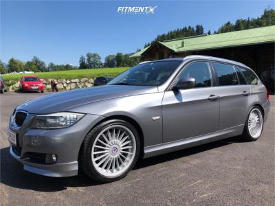 2011 BMW 3 Series - 18x8 34mm - Alpina Classic - Lowering Springs - 225/40R18