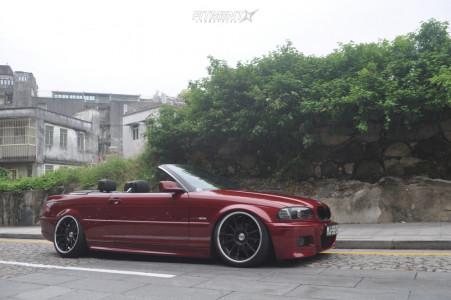 2001 BMW 325i - 19x9.5 25mm - SSR Type12 - Air Suspension - 235/35R19