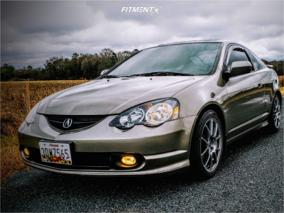 2002 Acura RSX - 17x7.5 40mm - Enkei Ys5 - Coilovers - 215/45R17