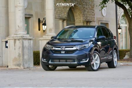 2017 Honda CR-V - 20x8.5 38mm - Niche Milan - Stock Suspension - 255/45R20