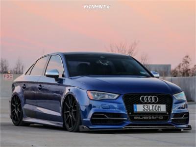 2015 Audi S3 - 19x8.5 35mm - Niche Essen - Air Suspension - 235/35R19