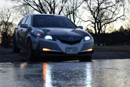 2010 Acura TL - 19x9.5 35mm - Niche Gamma - Stock Suspension - 245/40R19