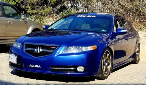 2007 Acura TL 5zigen GN+ Tein Coilovers | Fitment Industries