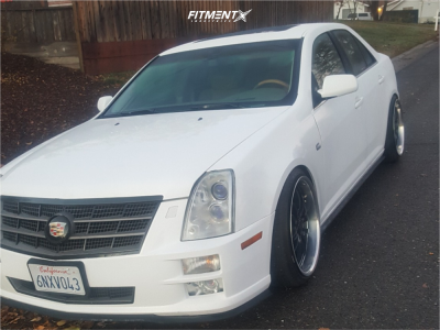 2006 Cadillac STS - 20x10 35mm - MKW M73 - Lowering Springs - 225/35R20