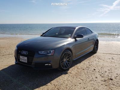 2016 Audi S5 - 19x10 30mm - Curva C300 - Stock Suspension - 255/35R19