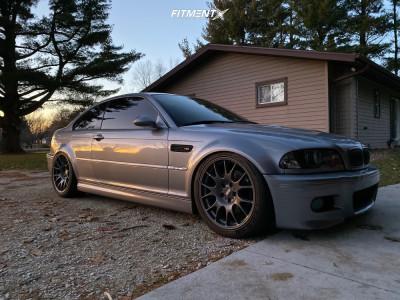 2004 BMW M3 - 19x8.5 35mm - BBS Chr - Coilovers - 245/40R19