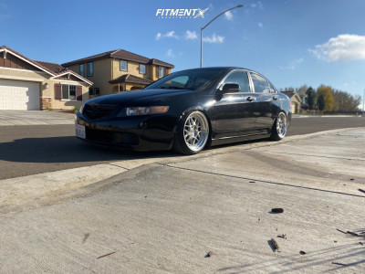 2005 Acura TSX - 19x9.5 25mm - MRR GF19 - Coilovers - 215/35R19