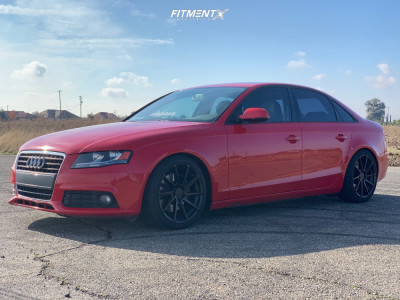2010 Audi A4 - 18x8.5 42mm - TSW Watkins - Coilovers - 225/40R18