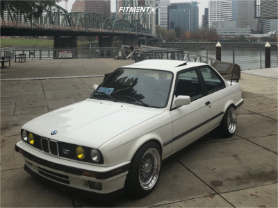 1991 BMW 318is - 16x8 15mm - BBS Rs - Coilovers - 205/45R16