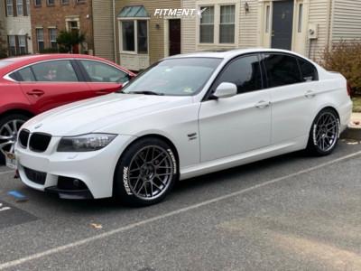 2011 BMW 3 Series - 18x9 30mm - Apex Arc-8 - Lowering Springs - 235/40R18