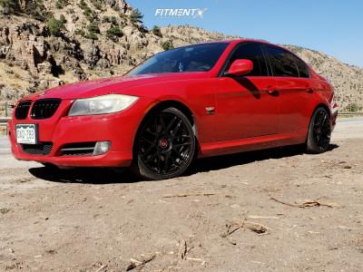 2009 BMW 328i xDrive - 18x8.5 35mm - Curva C300 - Stock Suspension - 225/45R18