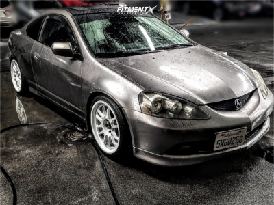 2006 Acura RSX - 18x9 33mm - Cosmis Racing XT-206R - Coilovers - 225/40R18