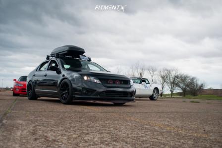 2010 Ford Fusion - 18x8.75 33mm - XXR 530 - Lowering Springs - 245/40R18