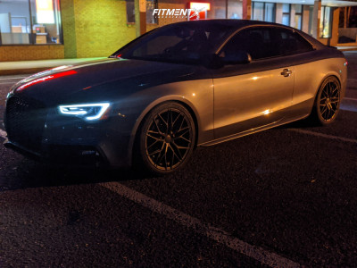 2014 Audi S5 - 19x9 30mm - 305 Forged FT107 - Lowering Springs - 255/35R19