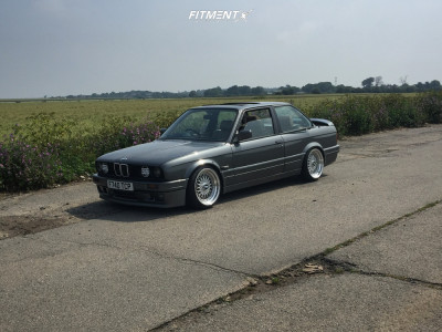 1989 BMW 325i - 17x8.5 5mm - Lenso Bsx - Coilovers - 195/40R17