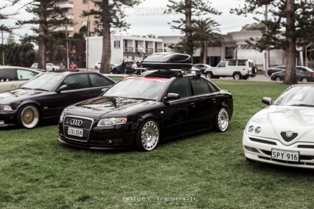 2005 Audi A4 Quattro - 18x9.5 35mm - Rotiform Ccv - Coilovers - 255/35R18