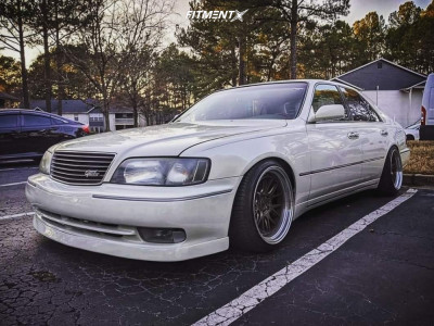 1997 Infiniti Q45 - 18x10.5 15mm - Aodhan DS06 - Coilovers - 225/40R18