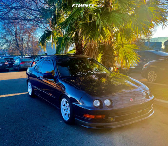 1997 Acura Integra - 15x8 35mm - Rays Engineering 57DR - Coilovers - 225/50R15