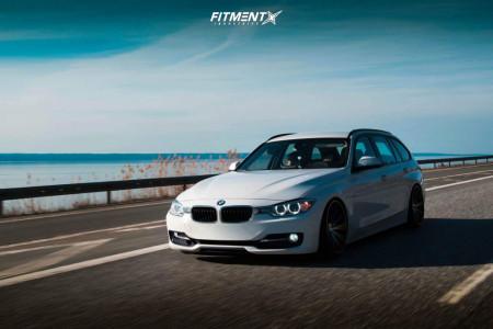 2014 BMW 320i - 19x9.5 38mm - Imaz IM5 - Coilovers - 215/35R19