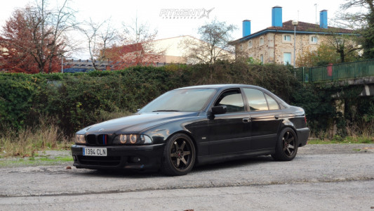 2002 BMW 530i - 18x9 15mm - Japan Racing Jr3 - Coilovers - 235/40R18