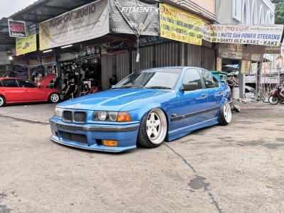 1996 BMW 3 Series - 17x9.5 25mm - Ac Schnitzer Type 2 - Air Suspension - 205/40R17