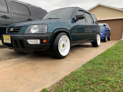 1998 Honda CR-V - 17x10 15mm - JNC Jnc004s - Coilovers - 225/45R17