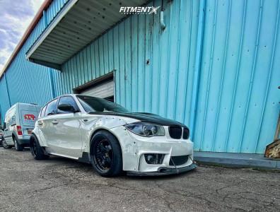 2007 BMW 1 Series M - 18x10.5 25mm - ESR SR04 - Coilovers - 245/45R18