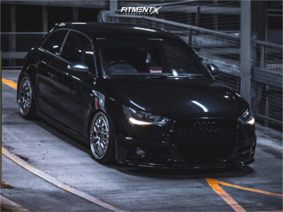 2011 Audi A3 - 18x8.5 35mm - Rotiform Lsr - Coilovers - 215/35R18