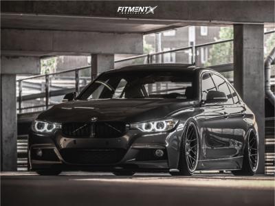 2014 BMW 328d xDrive - 20x9 22mm - BBS Rsii - Air Suspension - 215/35R20