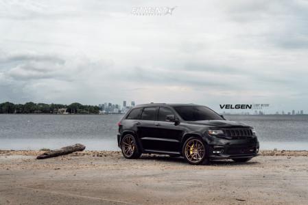 2018 Jeep Grand Cherokee - 22x10.5 35mm - Velgen Vf5 - Lowering Springs - 305/35R22