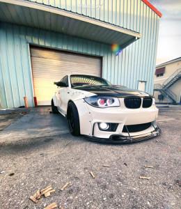 2007 BMW 1 Series M - 18x10.5 22mm - ESR Sr06 - Coilovers - 235/45R18