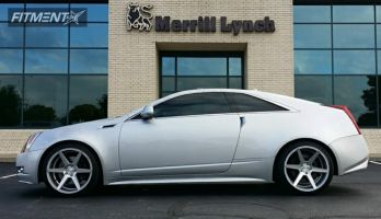 2011 Cadillac CTS - 20x9 35mm - Stance SC-6ix - Lowered on Springs - 245/35R20