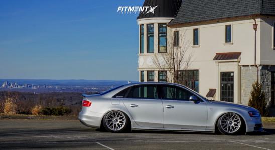 2014 Audi A4 Quattro - 18x9.5 35mm - Rotiform Rse - Air Suspension - 235/40R18