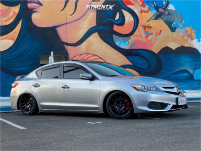 2018 Acura ILX - 18x9 35mm - Cosmis Racing XT-206R - Coilovers - 215/35R18