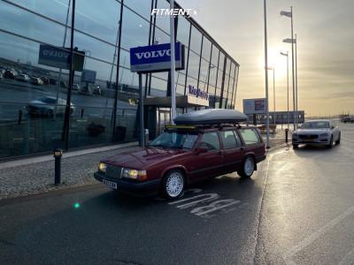 1995 Volvo 940 - 17x8 30mm - Work Seeker Cx - Lowering Springs - 225/45R17