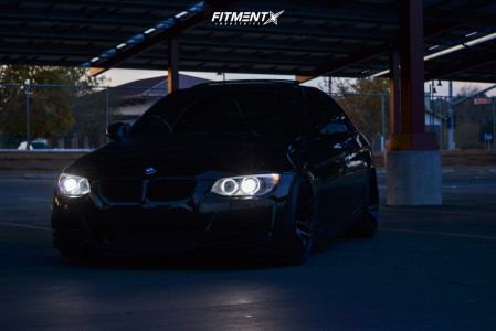 2012 BMW 335is - 19x9.5 42mm - Forgestar F14 - Coilovers - 235/35R19