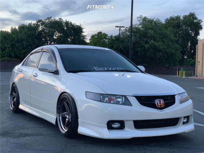 2005 Acura TSX - 18x9.5 30mm - Aodhan Ds05 - Coilovers - 225/40R18