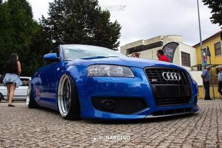 2006 Audi A3 - 18x8.5 31mm - RH AL CUP - Stock Suspension - 205/35R18