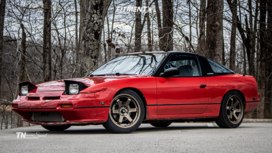 1989 Nissan 240SX - 17x9 35mm - MST Mt01 - Coilovers - 225/45R17