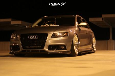 2011 Audi A4 Quattro - 20x10 35mm - Rotiform Ccv - Air Suspension - 245/40R20
