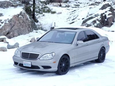 2005 Mercedes-Benz S500 - 20x9 35mm - Rohana Rc20 - Stock Suspension - 245/40R20