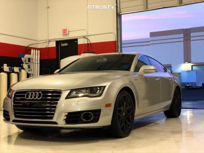 2012 Audi A7 Quattro - 20x8.5 35mm - Mazzi Profile - Stock Suspension - 275/35R20