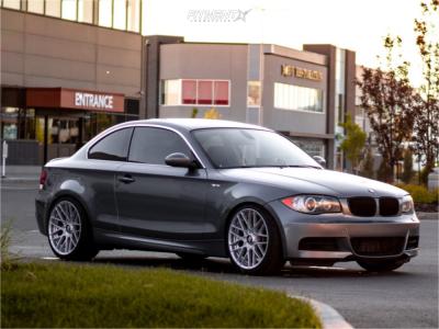 2009 BMW 135i - 19x8.5 35mm - Rotiform Rse - Lowering Springs - 235/45R19