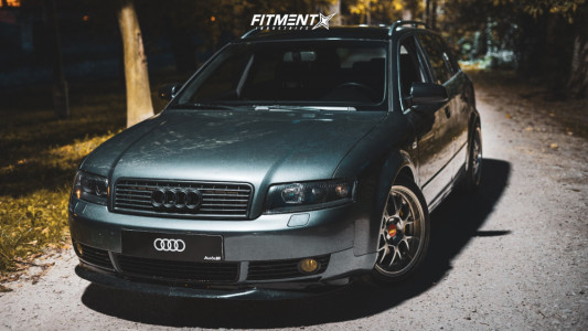 2003 Audi A4 - 17x8 35mm - Rial Nogaro - Coilovers - 215/45R17