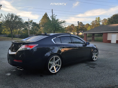 2010 Acura TL - 20x10 40mm - Sothis Sc002 - Coilovers - 245/35R20